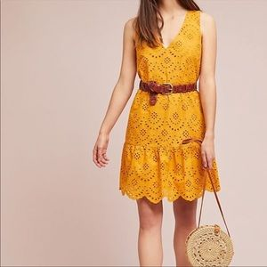 NWOT Anthropologie Dolan Calista Eyelet Lace Dress